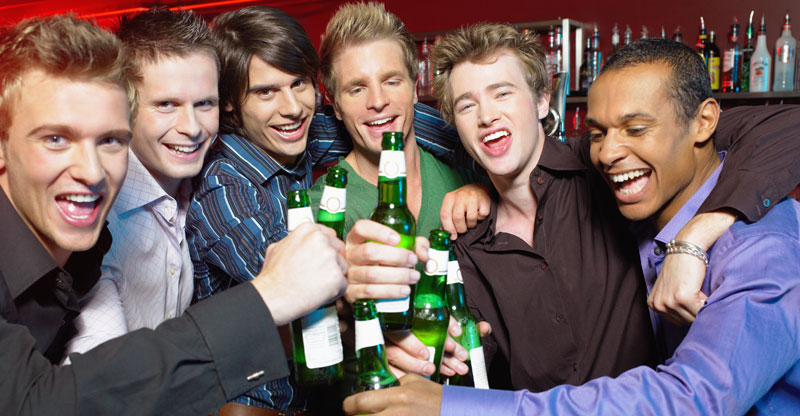 happy-group-of-guys-at-a-club